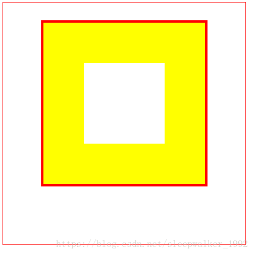 canvas——绘制矩形