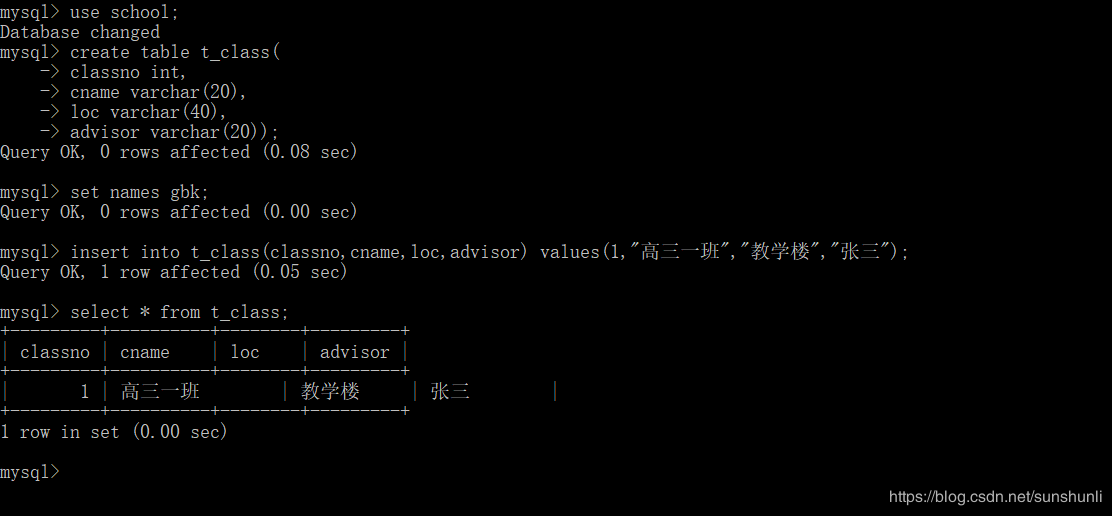MySQL插入数据中文数据报错(Incorrect string value: 'xB0xE0' for column 'cname' at row 1)