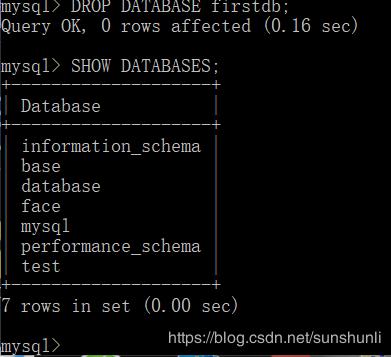 MySQL基础之数据库操作